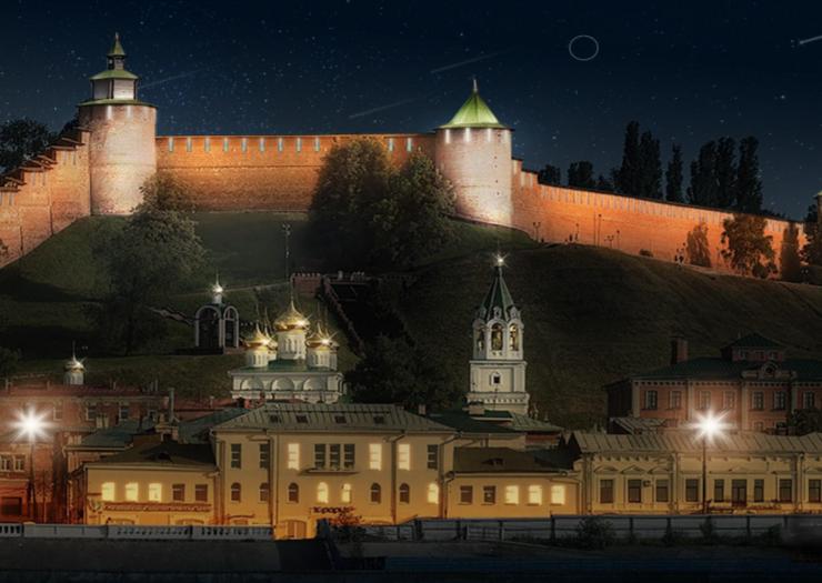 Стало известно, как будет выглядеть подсветка Нижегородского кремля за 75 млн рублей - фото 1