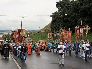 Нижегородцы пройдут крестным ходом «За жизнь и трезвую Россию»