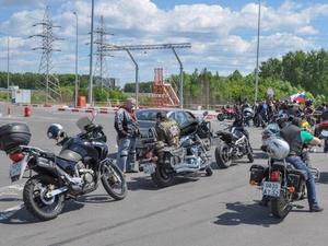Нижегородские байкеры протестировали новую дорогу Большая Ельня — Ольгино