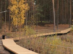 Wi-fi и арт-объекты появились в дзержинском парке «Утиное озеро»