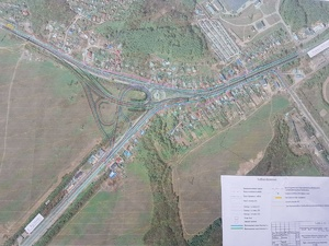 Развязку в Ольгино планируют закончить к 2021 году