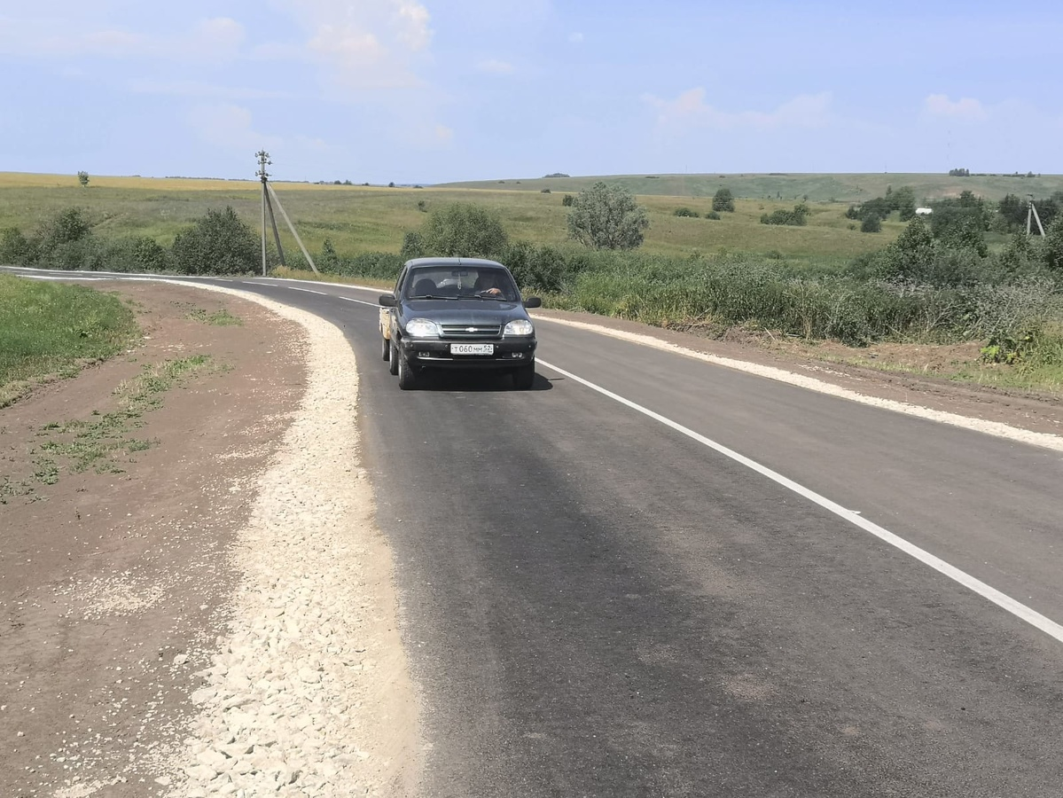 Дорогу к селу Малое Мурашкино отремонтировали за 25 млн рублей - фото 1