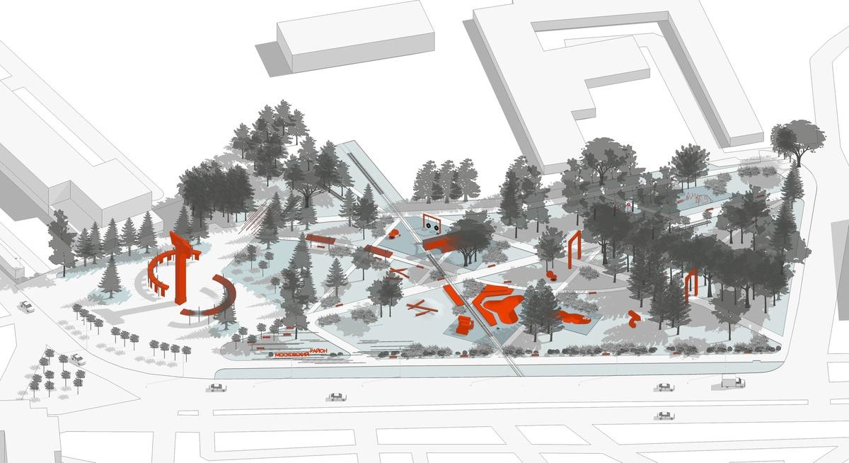 Зоны отдыха и прогулочные дорожки появятся на площади Героев - фото 2